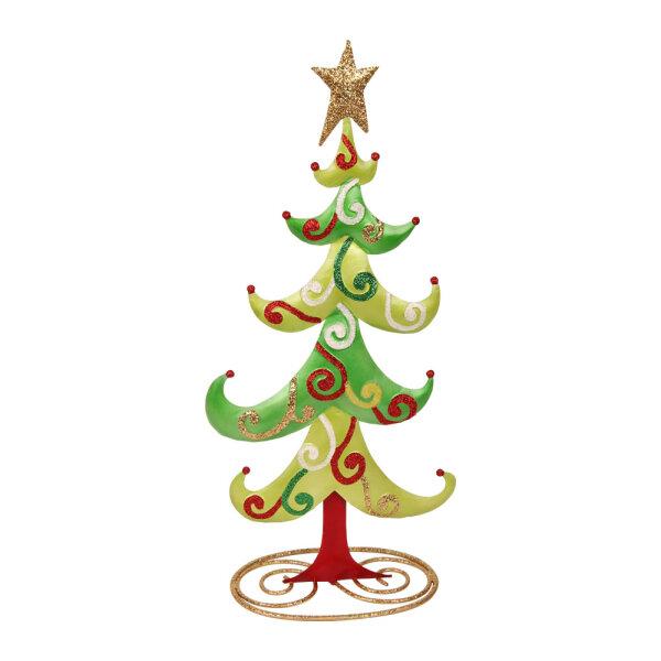 Weihnachtsbaum Metall.Weihnachtsbaum Metall 44 X 19 X 3